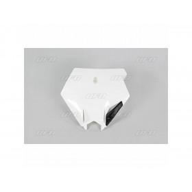 Plaque numéro frontale UFO noir KTM