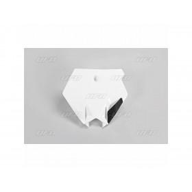Plaque numéro frontale UFO noir KTM SX85