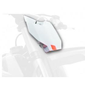 Plaque numéro frontale POLISPORT blanc KTM SX85