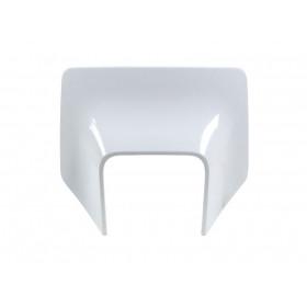 Plastique de plaque phare RACETECH blanc Husqvarna