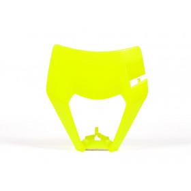 Plastique de plaque phare RACETECH jaune fluo KTM EXC