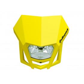 Plaque phare Polisport LMX jaune