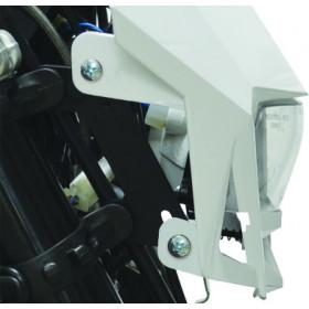 Plaque phare Polisport LMX blanc