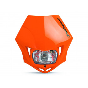 Plaque phare Polisport MMX orange