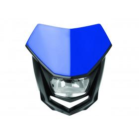 Plaque phare POLISPORT Halo bleu/noir