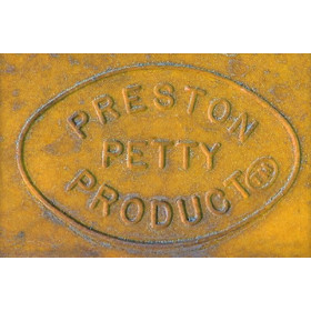 Plaque phare PRESTON PETTY halogène jaune