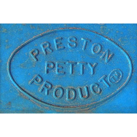 Plaque phare PRESTON PETTY halogène bleu butalco
