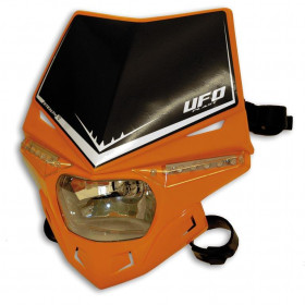 PLAQUE PHARE UFO STEALTH ORANGE KTM 98-11