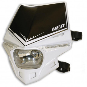 PLAQUE PHARE UFO STEALTH BLANC