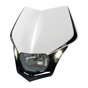Plaque phare RACETECH V-Face Led blanc