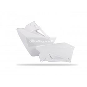 Plaques latérales POLISPORT blanc Gas Gas EC/EC-E/EC-F