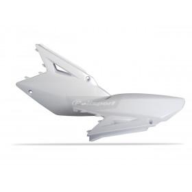 Plaques latérales POLISPORT couleur origine (08-13) blanc Suzuki RM-Z450