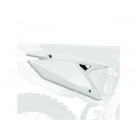 Plaques latérales POLISPORT blanc Suzuki RM-Z250