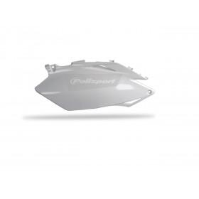 Plaques latérales POLISPORT blanc Honda CRF250R/CRF450R