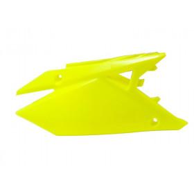 Plaques latérales RACETECH jaune fluo Suzuki RM-Z450