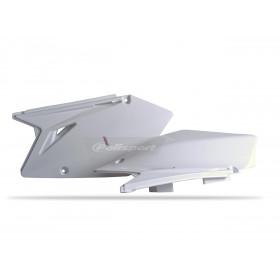 Plaques latérales POLISPORT blanc Suzuki RM-Z450