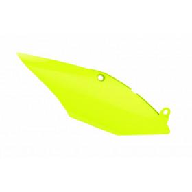 Plaques latérales POLISPORT jaune fluo Honda CRF450R