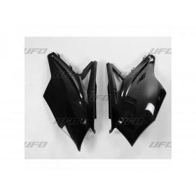 Plaques latérales UFO noir Kawasaki KX450F