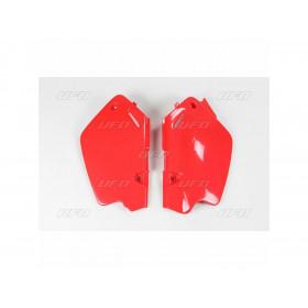 Plaques latérales UFO rouge Honda CR80R