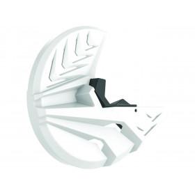 Protections de fourche et disque avant POLISPORT blanc KTM/Husqvarna