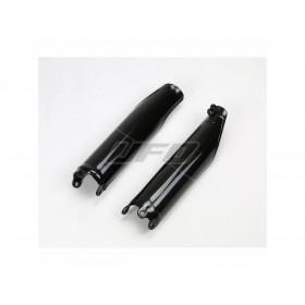 Protections de fourche UFO noir Honda CRF450R