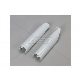 Protections de fourche UFO blanc Honda CRF450R