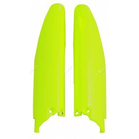 Protections de fourche RACETECH jaune fluo Suzuki RM-Z250/450