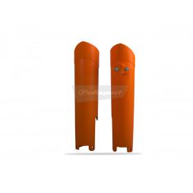 Protections de fourche POLISPORT orange Husqvarna/KTM