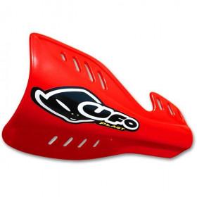 Protège-mains UFO rouge Honda CR125R/250R/500R