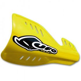 Protège-mains UFO jaune Suzuki RM125/250