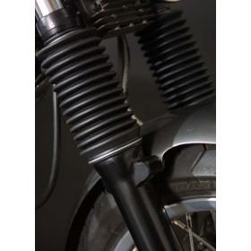 Soufflets de fourche LSL Clubman noir Triumph Bonnville/Thruxton