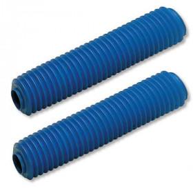 Soufflets de fourche CEMOTO bleu Ø38mm - 350mm