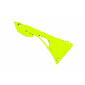 Caches boîte à air POLISPORT jaune fluo Honda CRF450R/450RX