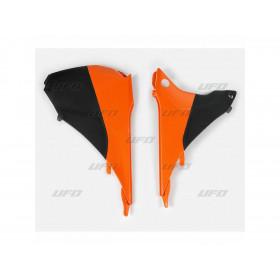Cache boîte à air UFO couleur origine (2014) KTM EXC/EXC-F