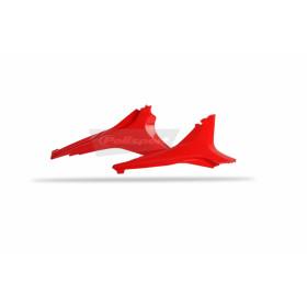 Caches boîte à air POLISPORT rouge Honda CRF250R/CRF450R