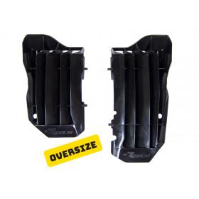 Cache radiateur grande capacité RACETECH noir Honda CRF450R/450RX