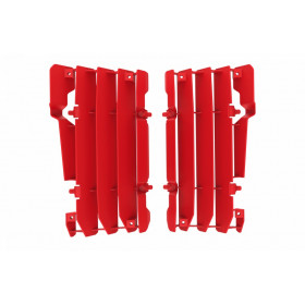 Cache radiateur POLISPORT rouge Beta