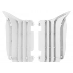 Cache radiateur POLISPORT blanc Yamaha YZ125/250