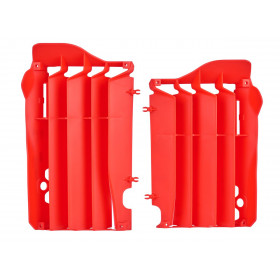 Cache radiateur POLISPORT rouge Honda CRF450R/RX