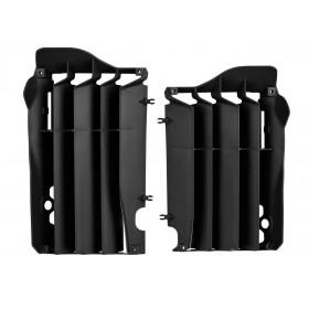 Cache radiateur POLISPORT noir Honda CRF450R/RX