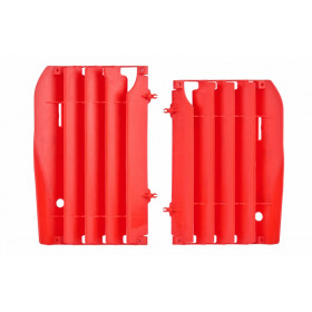 Cache radiateur POLISPORT rouge Honda CR125R/250R