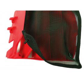 Filet cache radiateur POLISPORT noir Suzuki RM-Z450