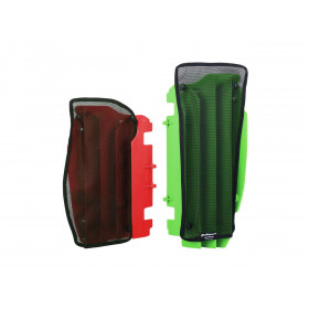 Filet cache radiateur POLISPORT noir Kawasaki KX250F