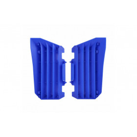 Cache radiateur POLISPORT bleu Yamaha YZ250F/450F