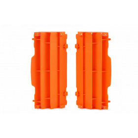 Cache radiateur POLISPORT orange KTM