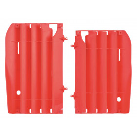 Cache radiateur POLISPORT rouge Honda CRF450R