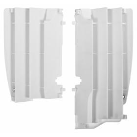 Cache radiateur POLISPORT blanc Suzuki RM-Z450