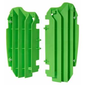 Cache radiateur POLISPORT vert Kawasaki KX250F