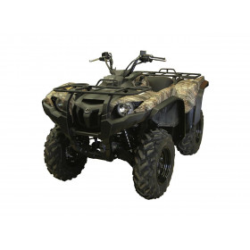 Kit d'extension d'ailes DIRECTION 2 noir Yamaha Grizzly