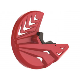 Protège disque avant POLISPORT rouge Honda CRF450R/450RX
